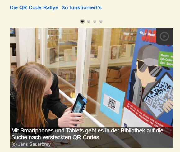 Link QR Code Ralley